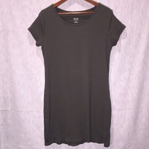 Mossimo Olive Green T Shirt Dress